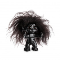 Goodluck Troll, Dark brown/Dark brown hair, 9cm