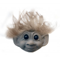 Goodluck Troll, grey magnet