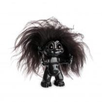 Lykketrold, Mørk brun/ mørk brunt hår, 9 cm