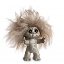 Sand/sand hair, 9 cm, Goodluck troll