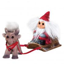 "Santa with reindeer ""Brave"", Goodluck Troll"