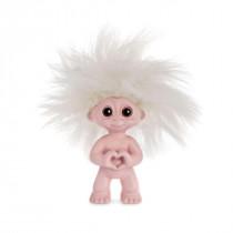 Heart troll, rose 9 cm, Goodluck troll