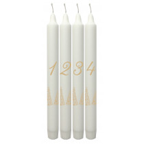 Advent candles Goodluck Forest, set of 4