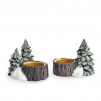 Goodluck Forest, tealight holder, 2 pcs