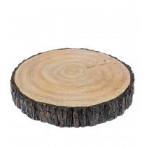 Wood slice, poly resin ø20 cm